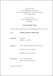 Pychological contract master thesis